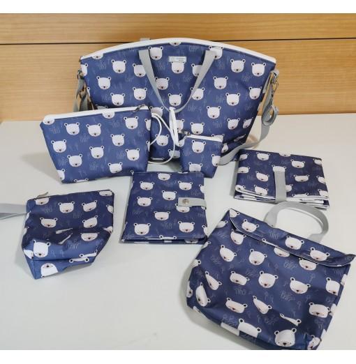 Pack Maternidad Osos Azul