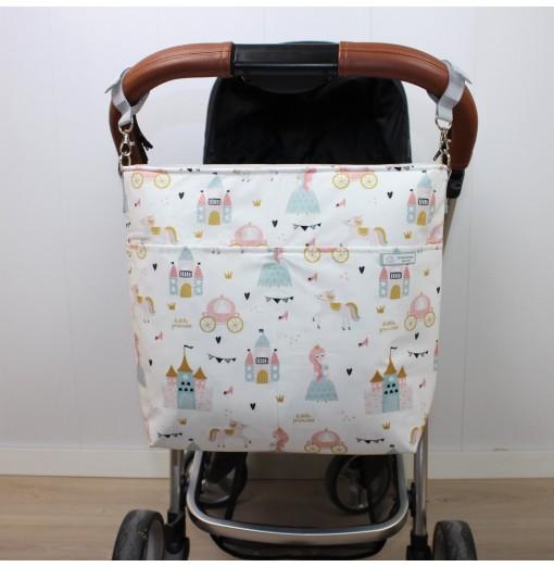 Bolsa Carro Bebé Princesas...