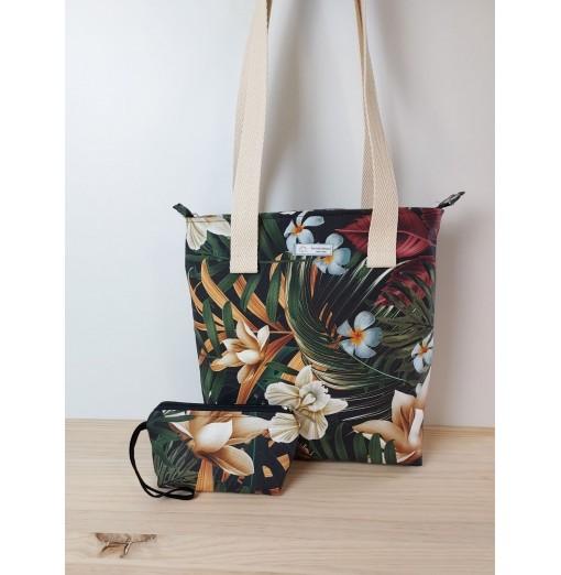 Bolso de Mujer Flores Tropical