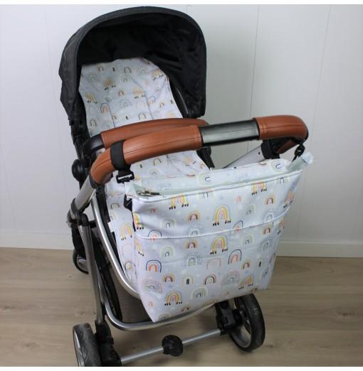 Bolso Carro Bebé Arcoíris...